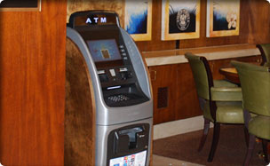 indoor automatic teller machine