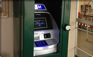 Outdoor ATM Installation